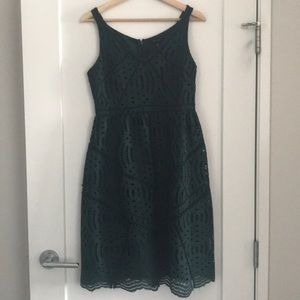 Ann Taylor lace cocktail dress size 2